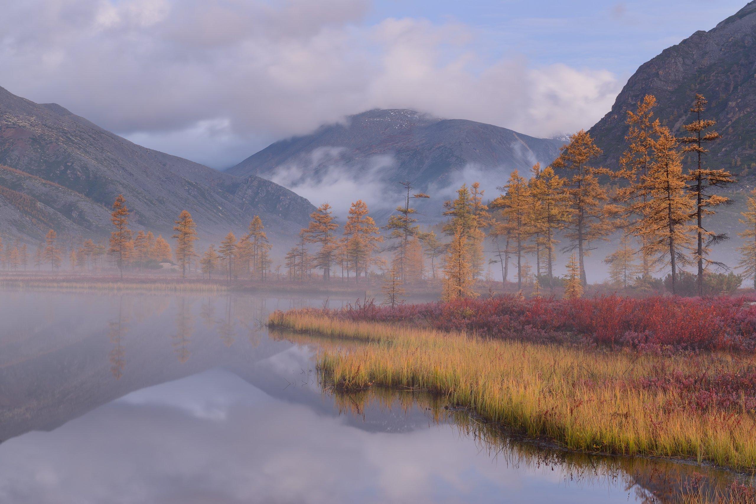 Озеро Джека Лондона, Колыма , Максим Евдокимов (phototourtravel.ru)