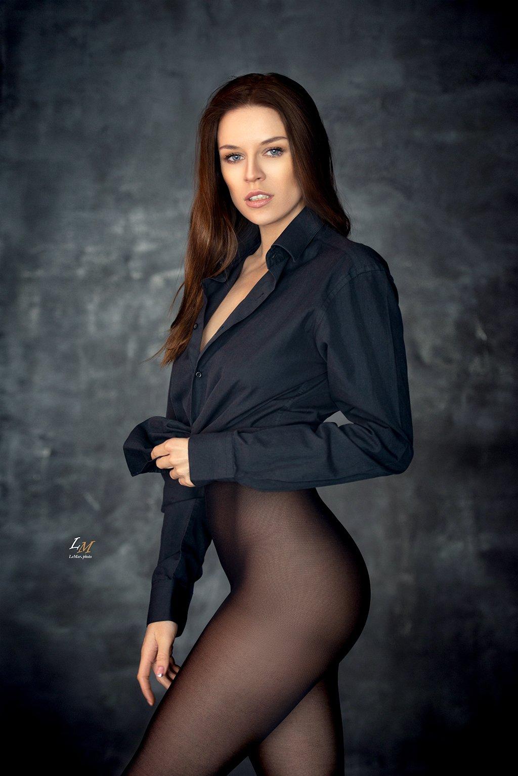 портрет, студия, девушка, москва, фотограф, Маркачев Леонид
