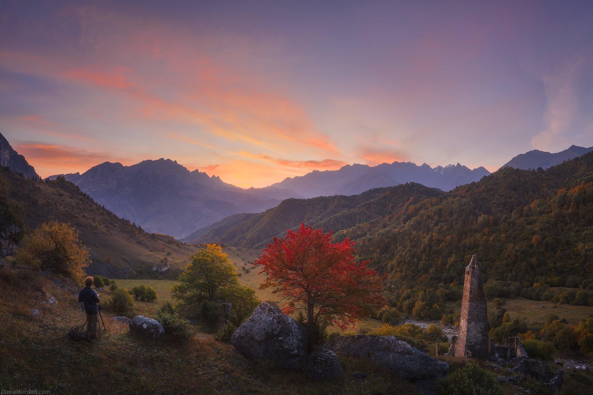Ингушетия, Кавказ, Даниил Коржонов