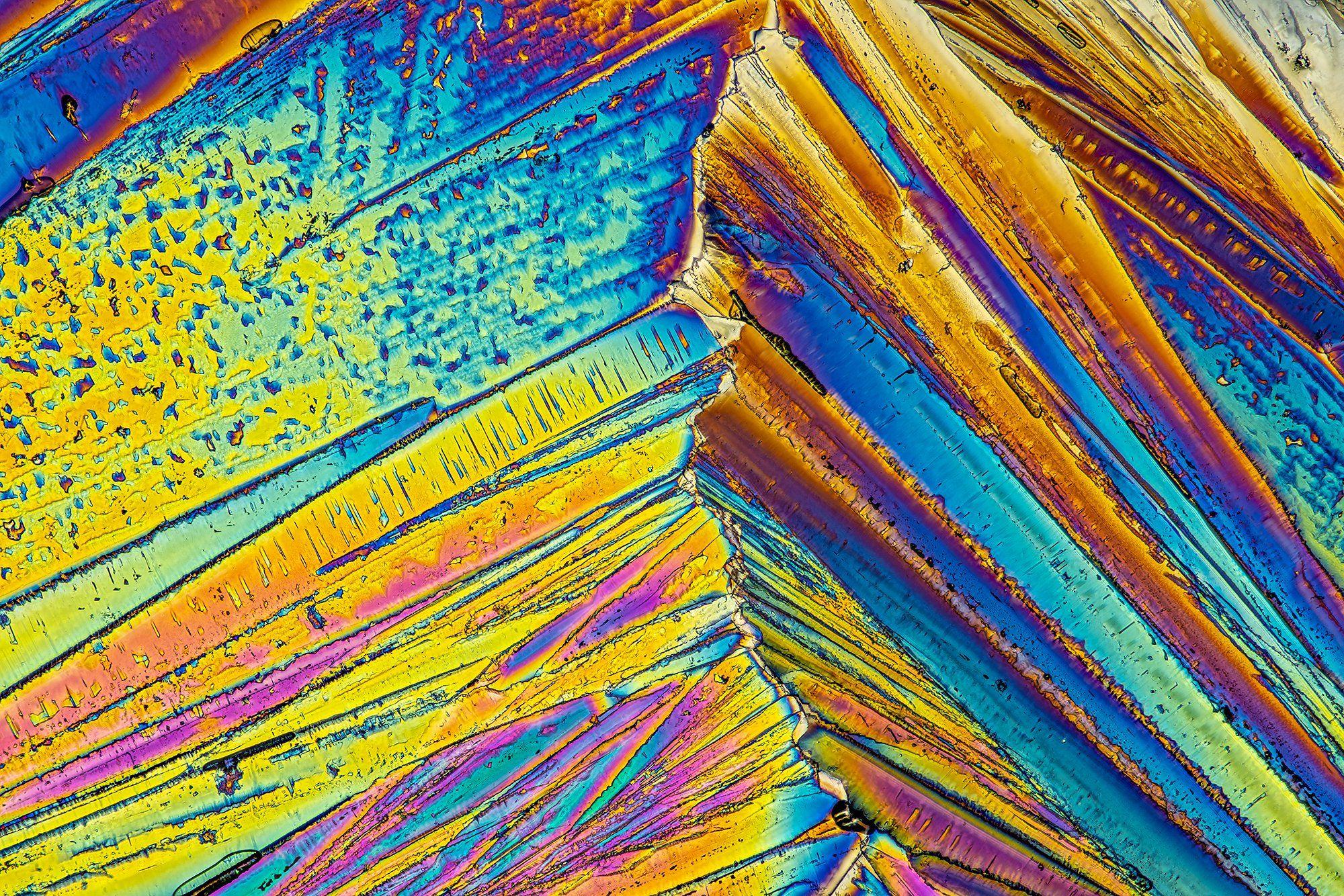 кристалл, crystals, макро, лимонная кислота, поляризованный свет, супермакро, macro, Борис Фотомания