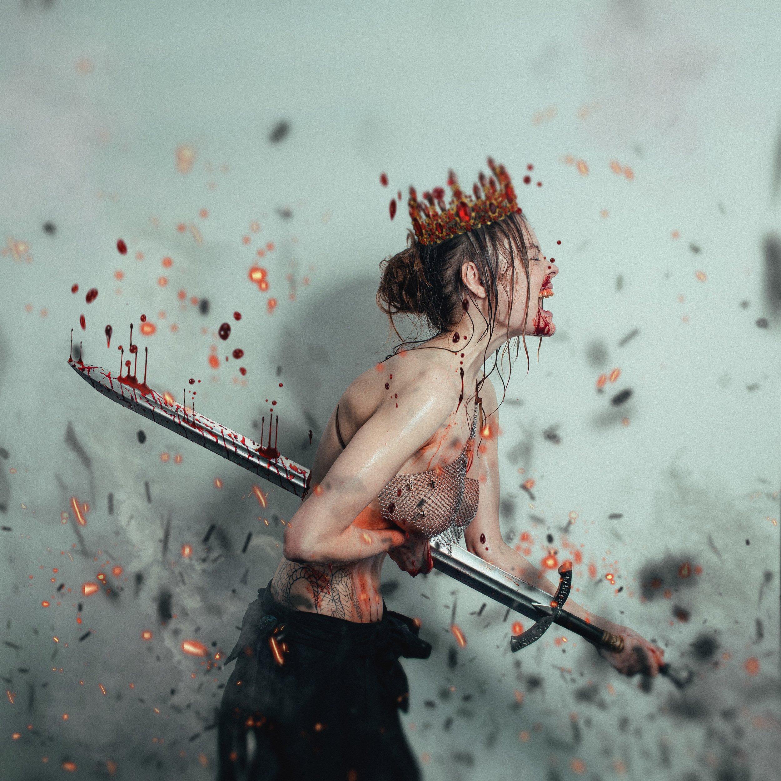 the, queen\'s, sacrifice, жертва, королевы, меч, кровь, Гуляев Виталий