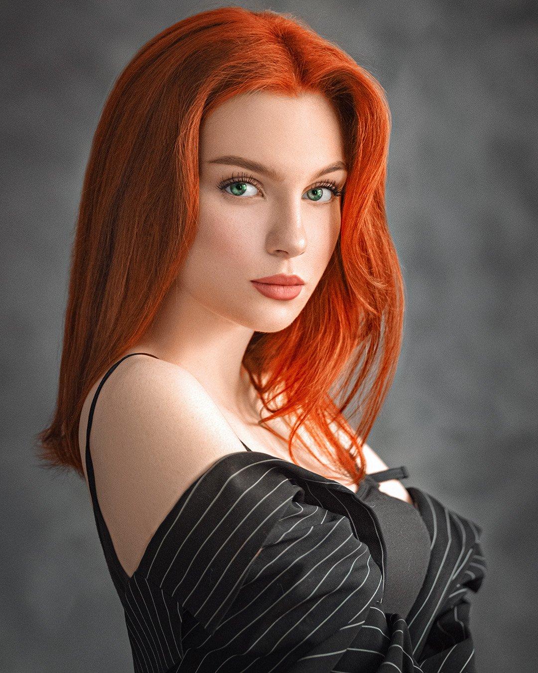 girl, portrait, art, девушка, портрет, арт, Евгений Сибиряев