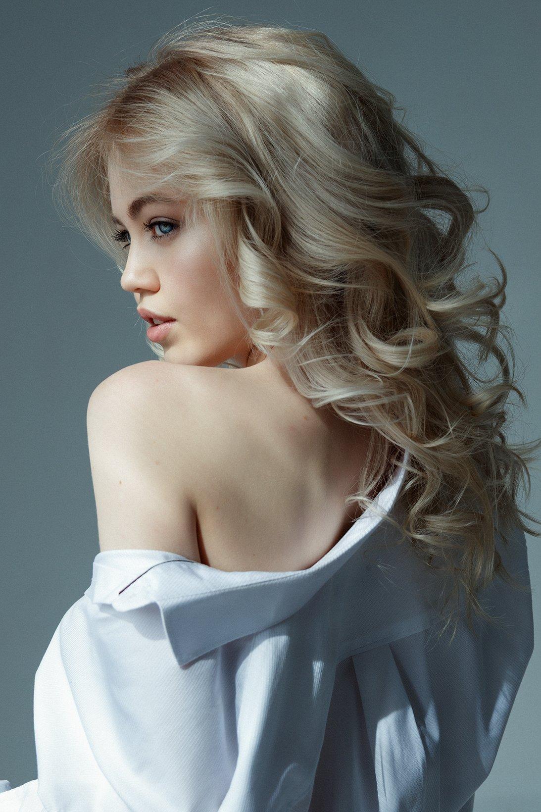 портрет, девушка, студийный портрет, съемка в студии, женский портрет, творческая съемка, арт, Peychev Nika