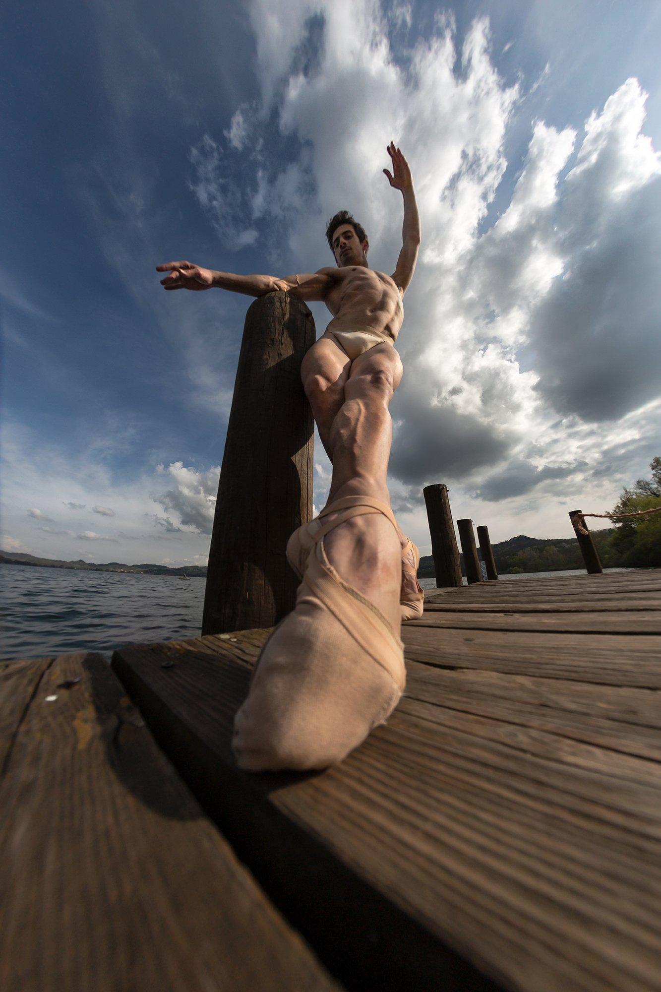 dance, man, ballet, portrait,, espressive photography
