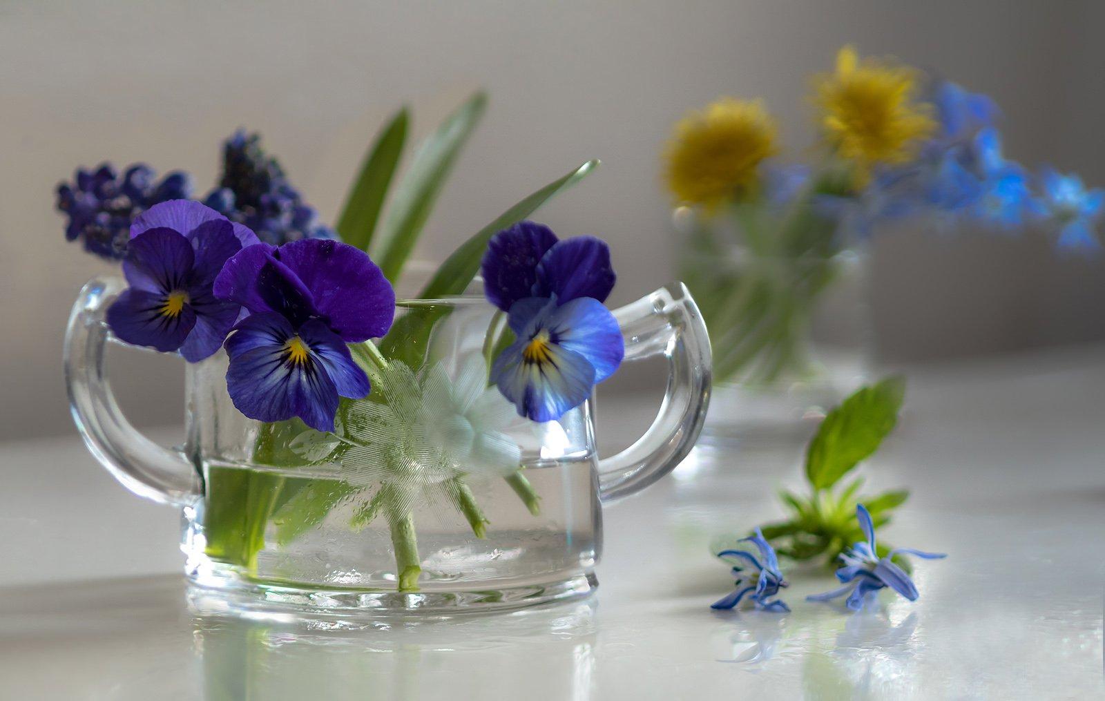 натюрморт,весна,цветы,этюд,, Антонина Яновска