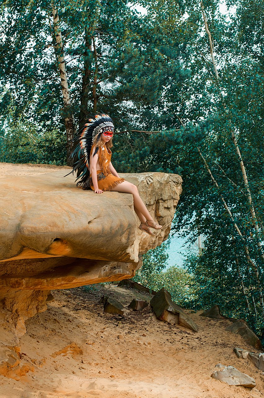portrait, girl, style, nature, indian,, Kerry Moore