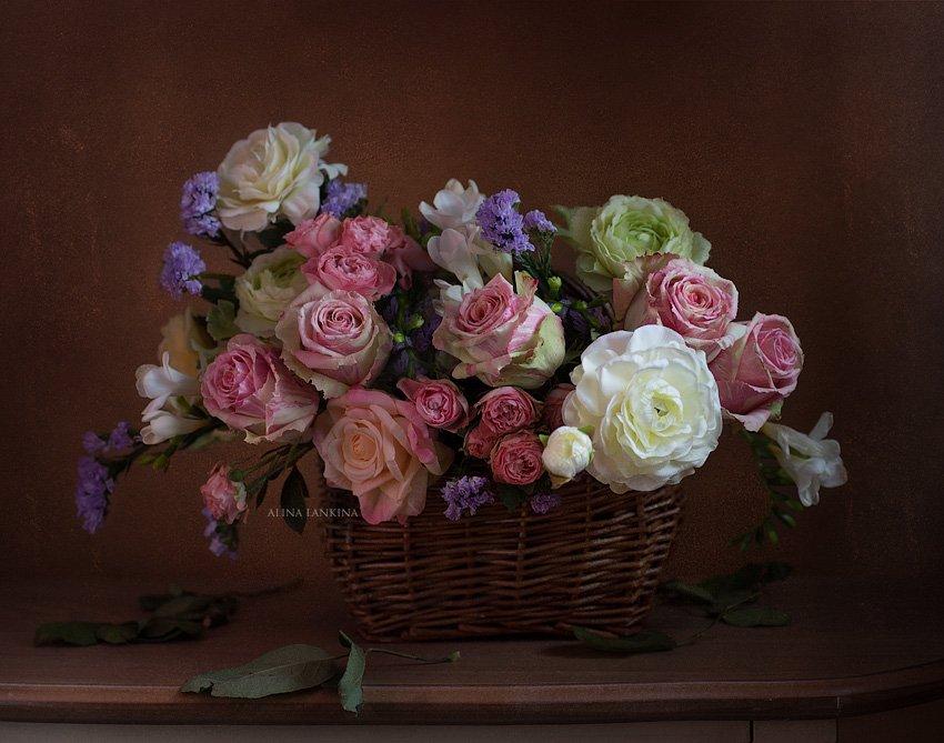 розы, цветы, букет, натюрморт, фотонатюрморт, алина ланкина, Алина Ланкина