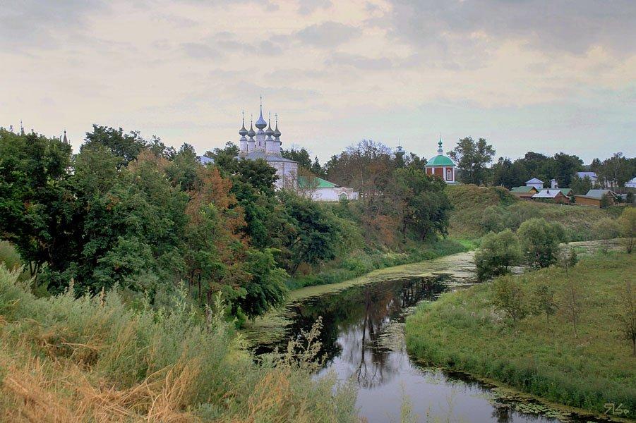 суздаль, мимоходом, пейзаж, Янситов Константин (старший)