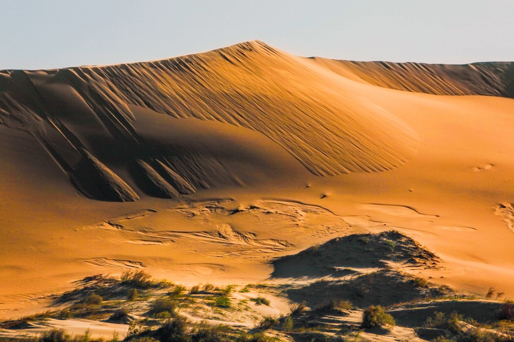 песок,пустыня,песчаная гора,дагестан.бархан, Марат Магов