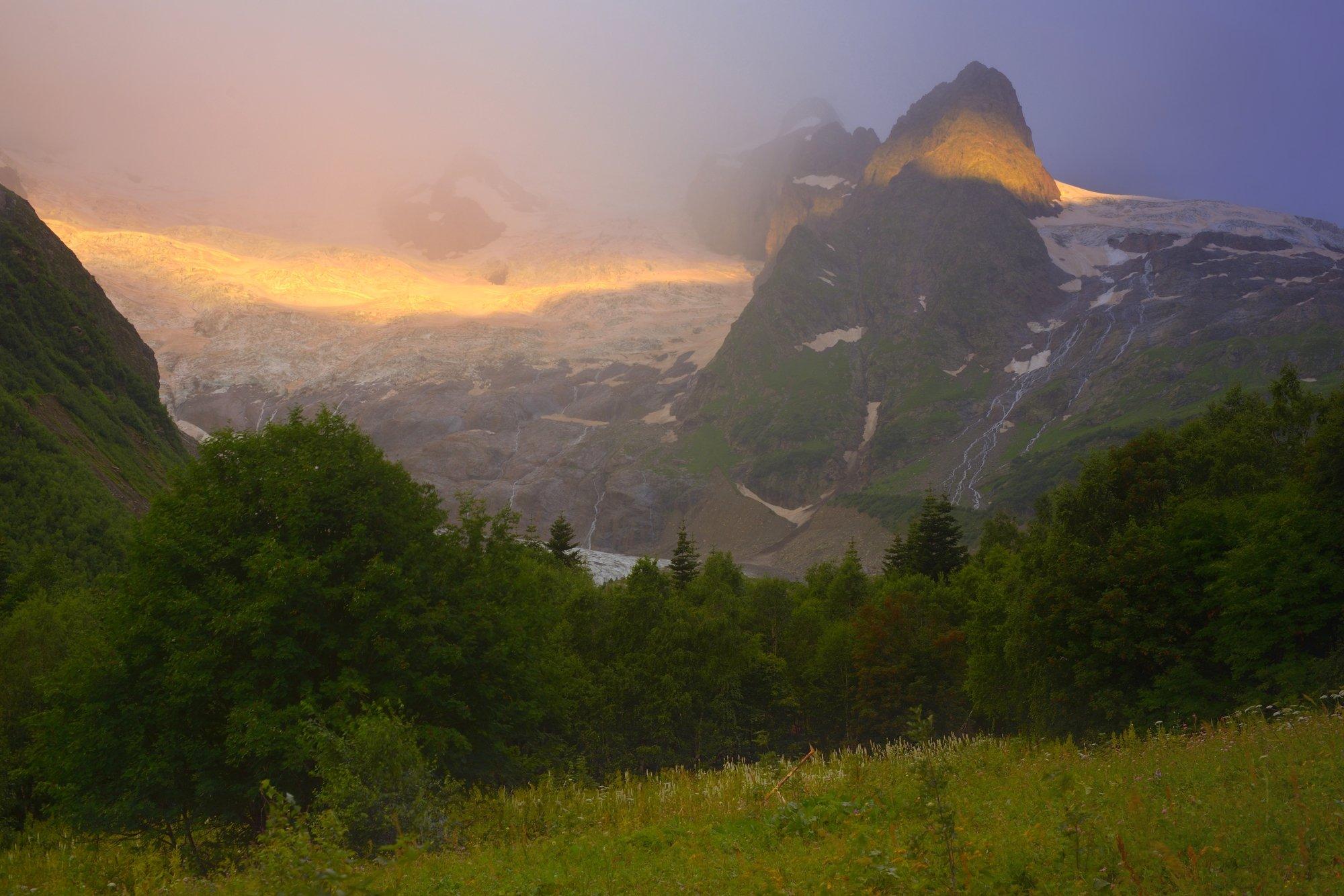 горы лето рассвет алибек, Александр Жарников