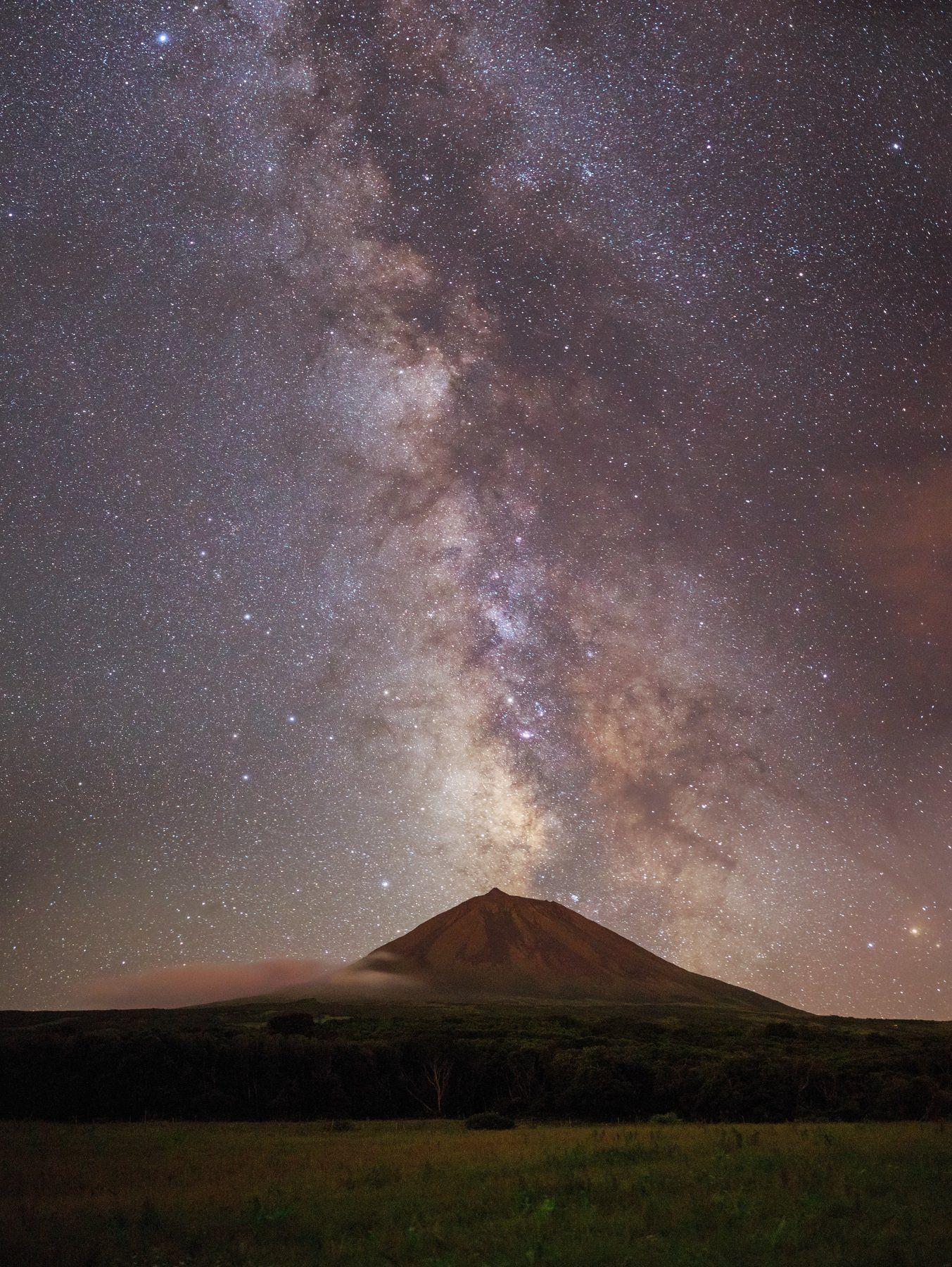 Azores Island, Pico Island, Volcano Pico, Milky Way, Vitalis Vasylius