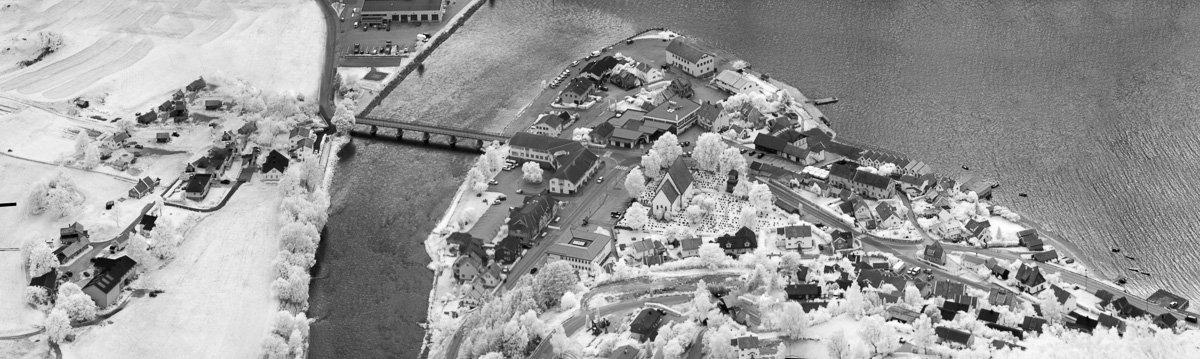 норвегия, аурланд, фото с высоты, инфракрасная фотография, панорама, ir, деревня, фьорд, Сергей Козинцев