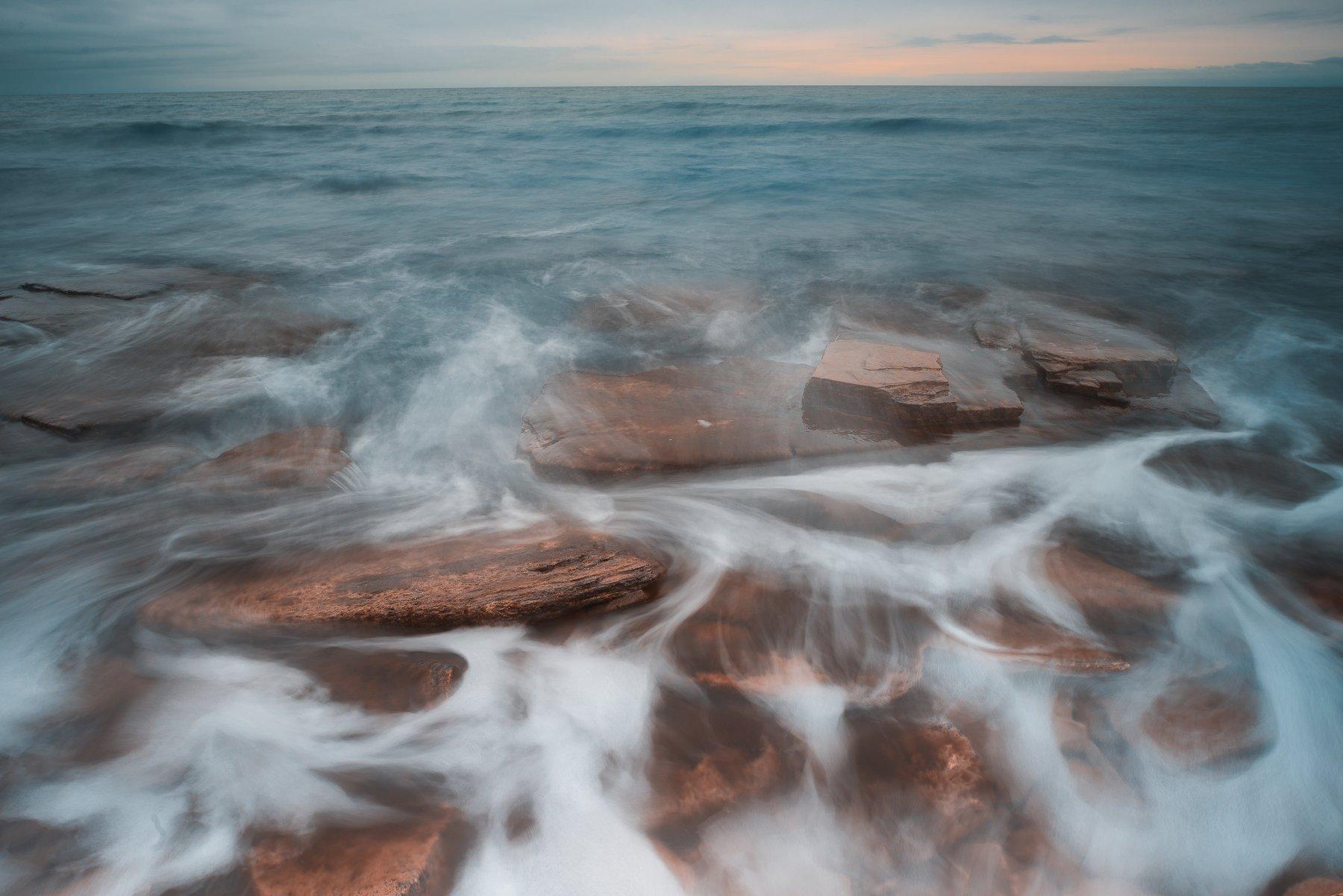 sea,coast,rocks,paint,bulgaria,black sea, Даниел Балъков