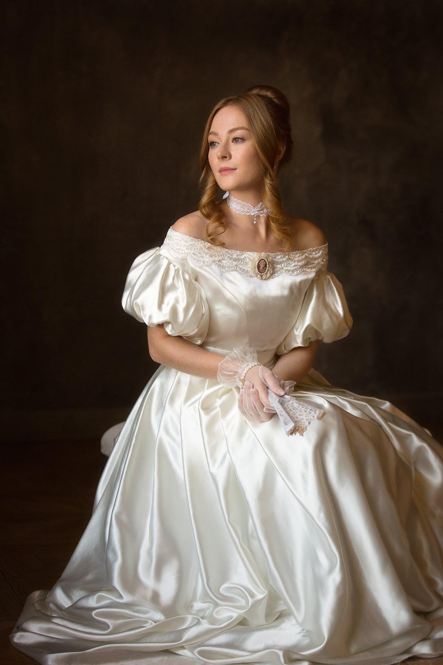 портрет, девушка, Алексей Назаров
