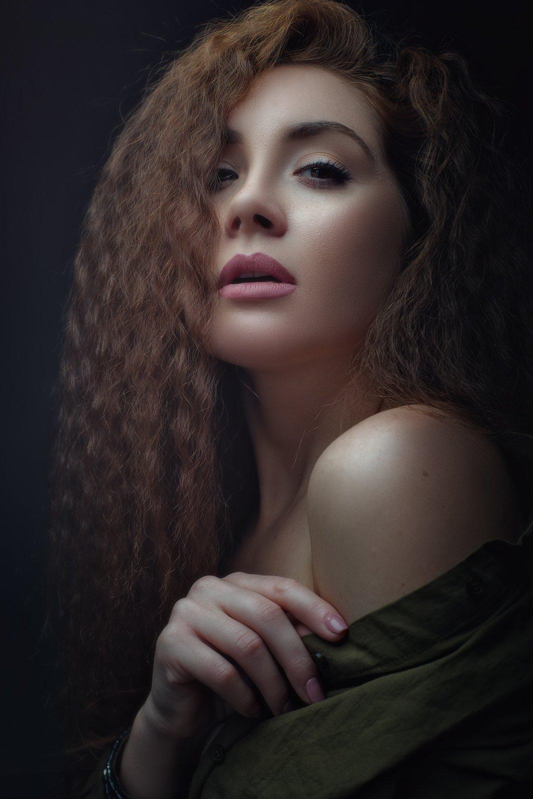 девушка, портрет, портрет девушки, женщина, женский портрет, характер, романтика, woman, girl, female, portrait, style, adult, Дмитрий Толоконов