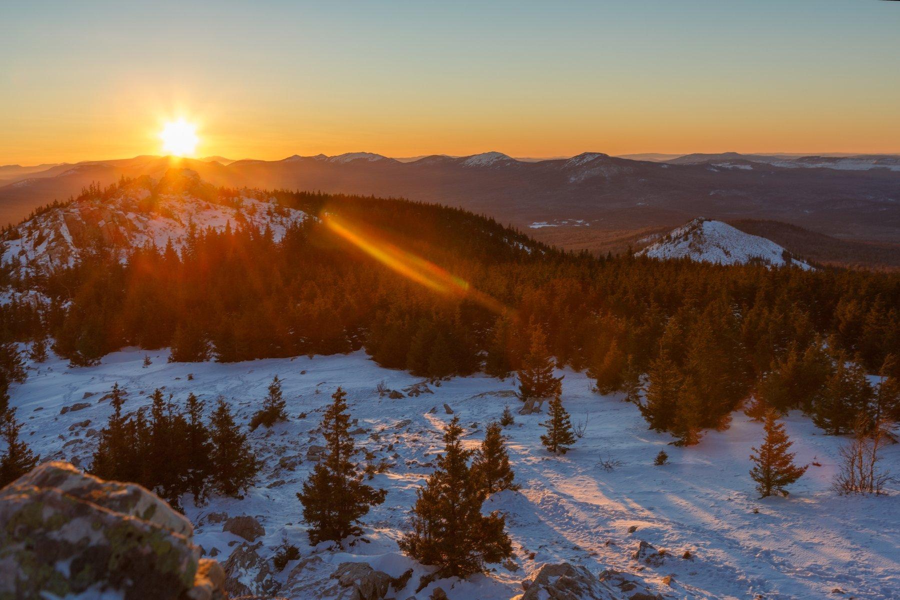 горы, облака, природа, урал, рассвет, пейзаж, путешествие, россия, челябинск, екатеринбург, Шевченко Николай