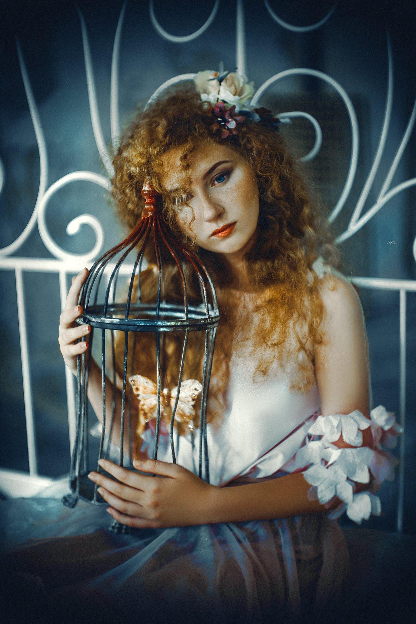 woman, art, portrait, beauty, Руслан Болгов (Axe)
