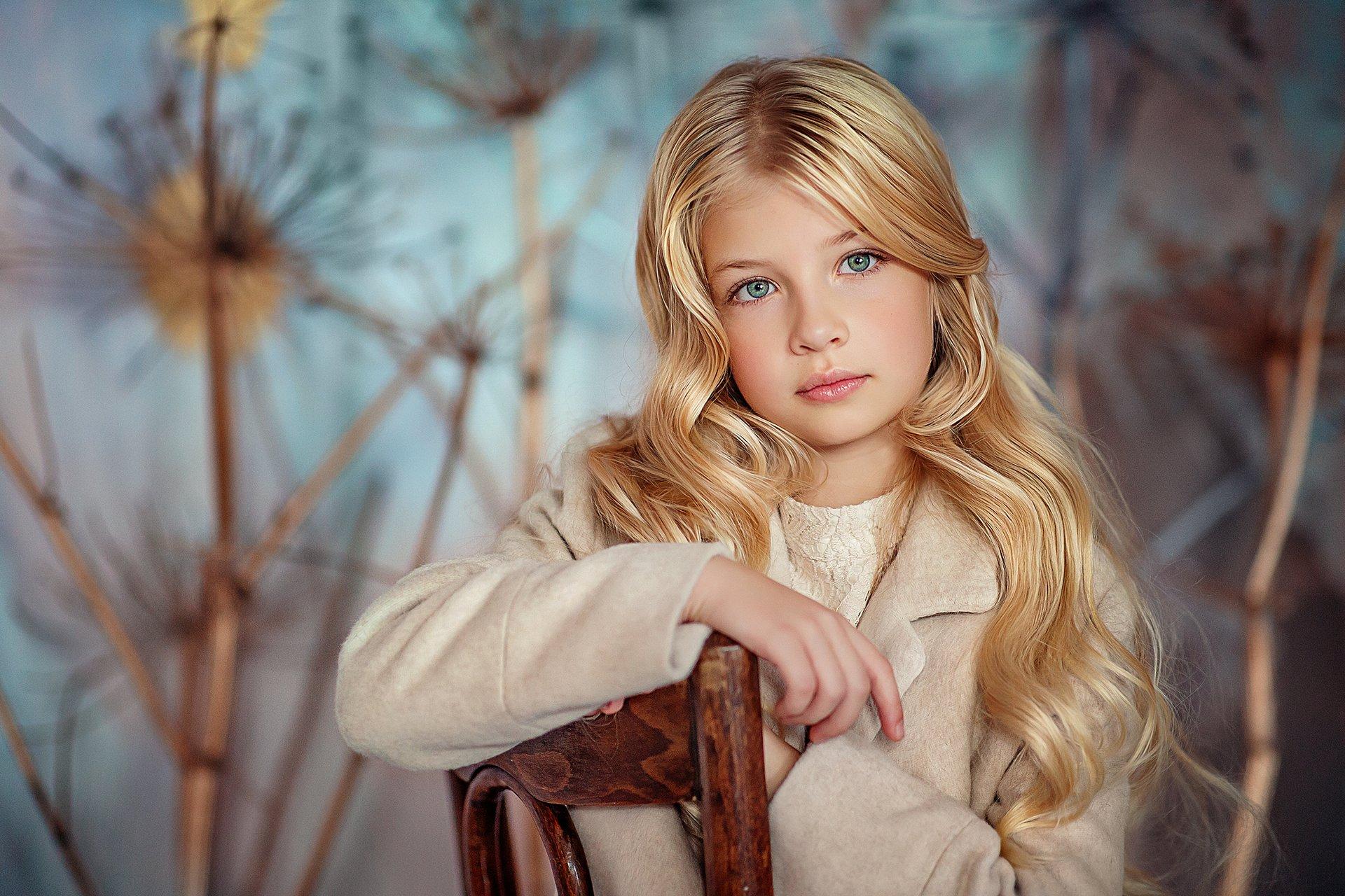 девочка портрет, Полковникова Катерина