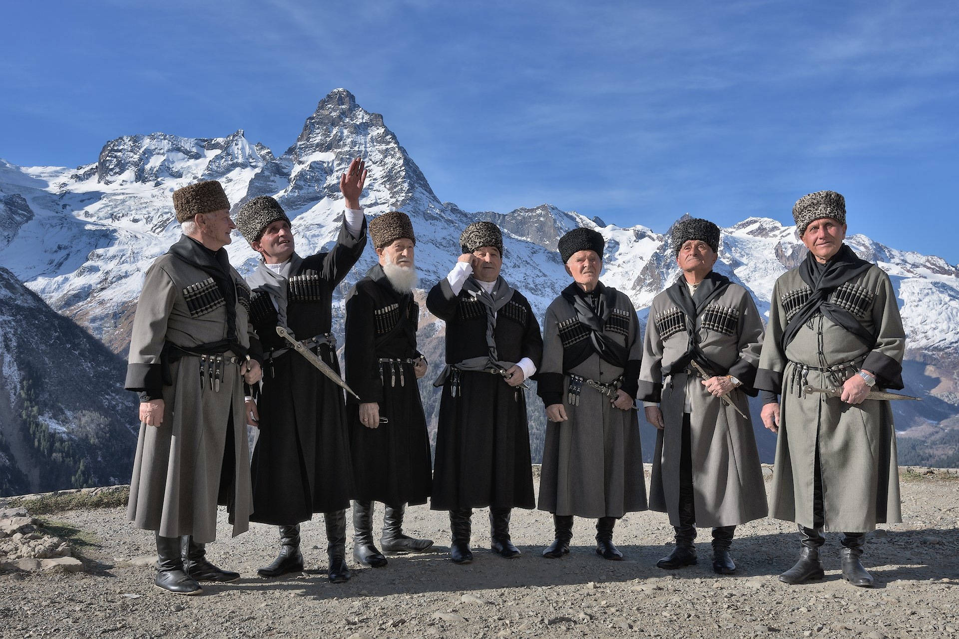 карачаево-черкессия,бесленей,старейшины, Смольников Андрей