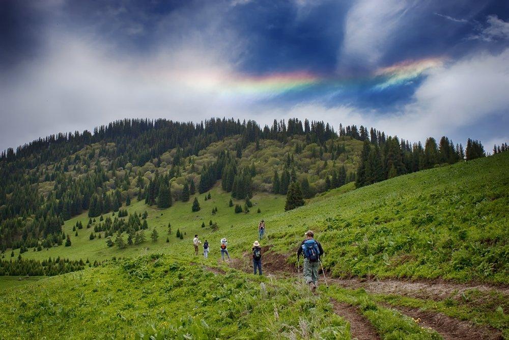 кыргызстан, горы, Элина Магалимова