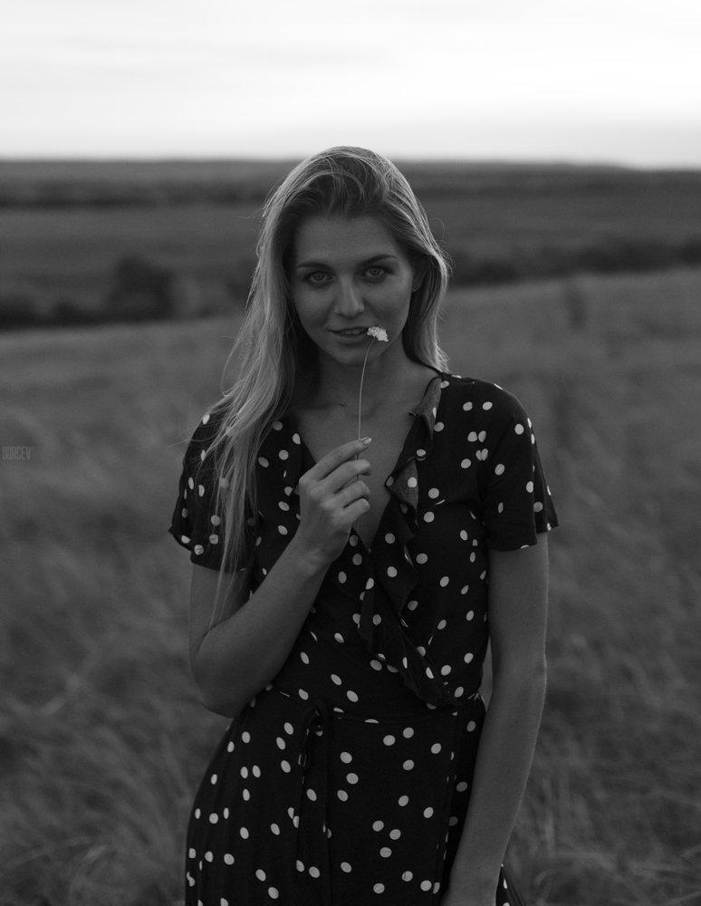 фотомодель, портрет, чб, девушка, красивая, взгляд, черно-белое, woman, beautifull, portrait, black & white, monochrome, canon6d, Алексей Бурцев
