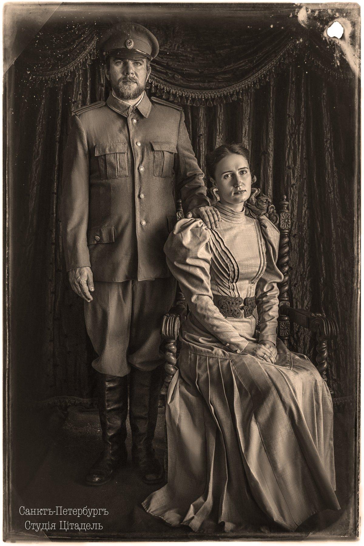 студияцитадель, портрет, военный. война, ретро, portrait, Сергей Рехов