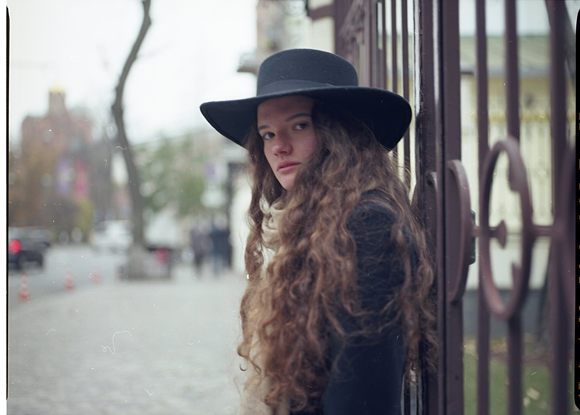 девушка, портрет, взгляд, пленка, valeko
