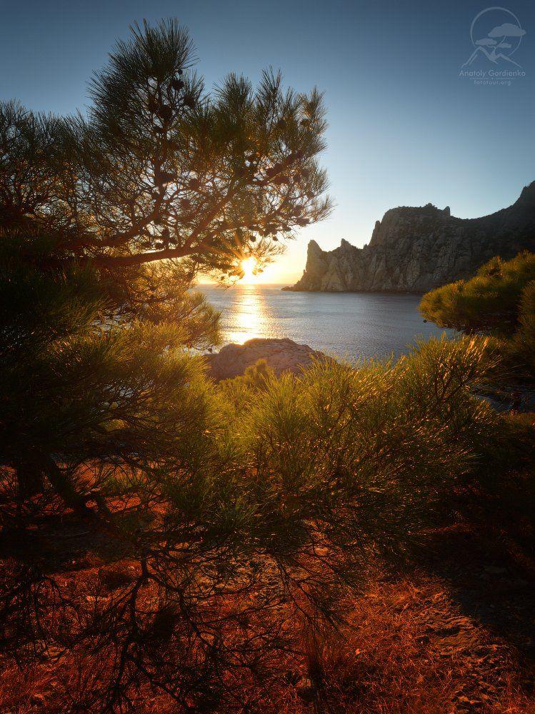 пейзаж, природа, горы, лес, крым, Анатолий Гордиенко www.fototour.org