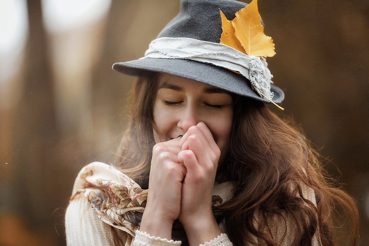 Осень, девушка, портрет, portreit, Маргарита Гусева