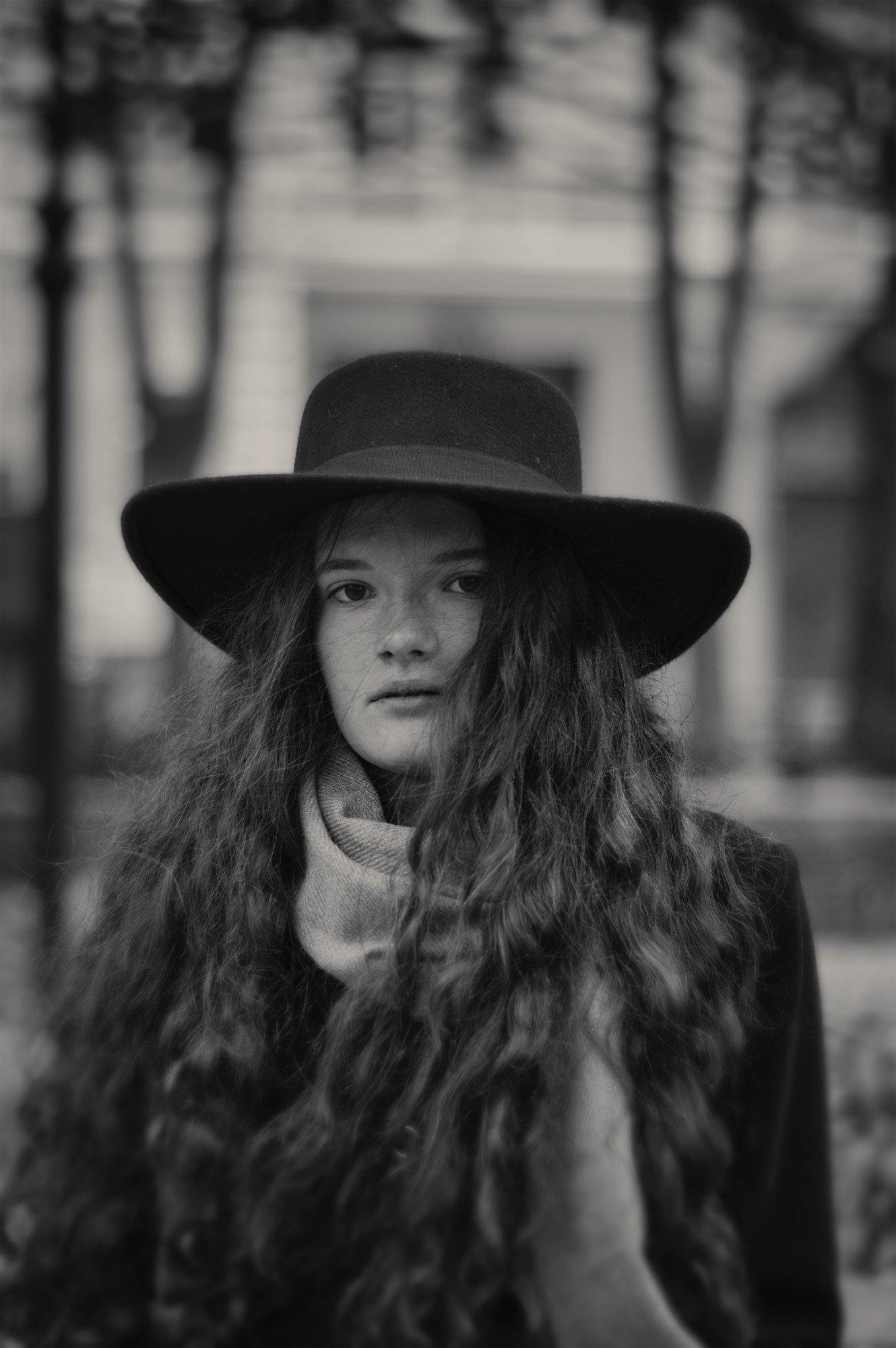 девушка, настроение, город, портрет, valeko
