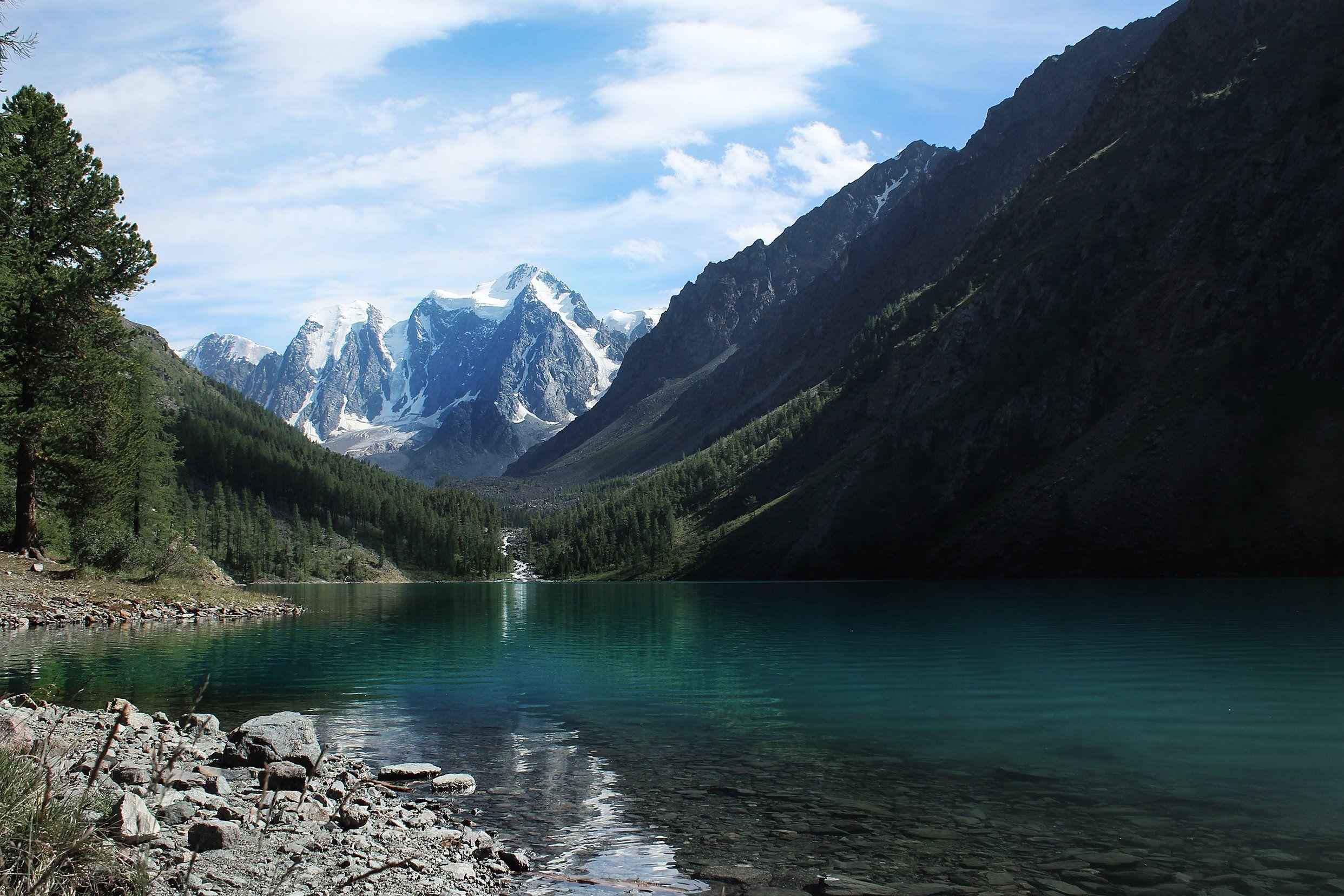 природа, алтай, горы, лес, солнце, озеро, nature, mountains, forest, light, lake, Станислав Попов