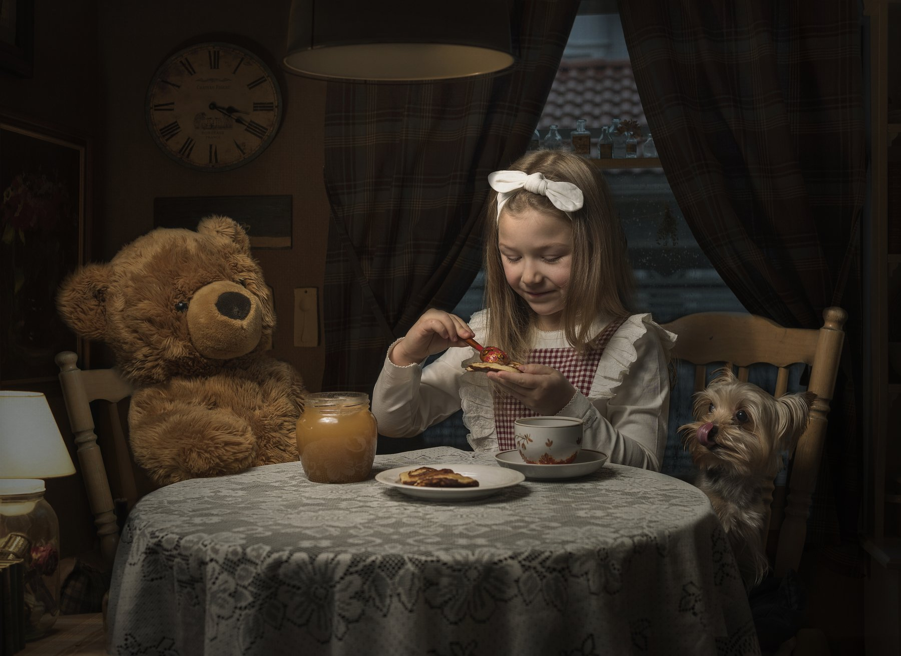 семейная фотография , портрет , собака , жанровый портрет, Kholodova Natalia