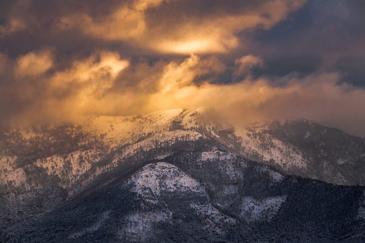 крым,снег,зима,горы,закат,рассвет,пейзаж,природа,россия,фототур, Elena Pakhalyuk
