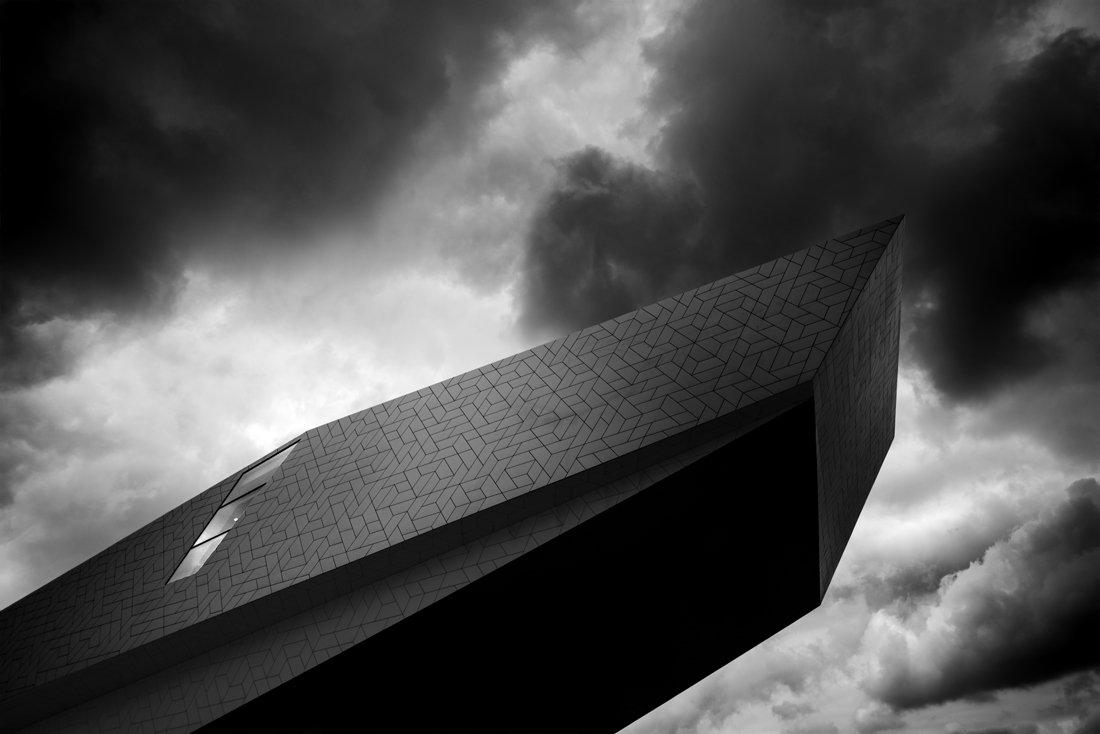architecture,bw,amsterdam,, rafal wroblewski