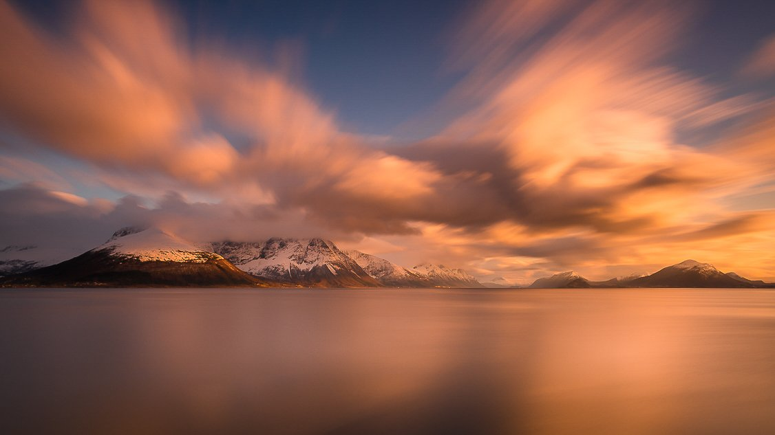 norway,landscape,light,sunset,mood,sea, Tomek Orylski