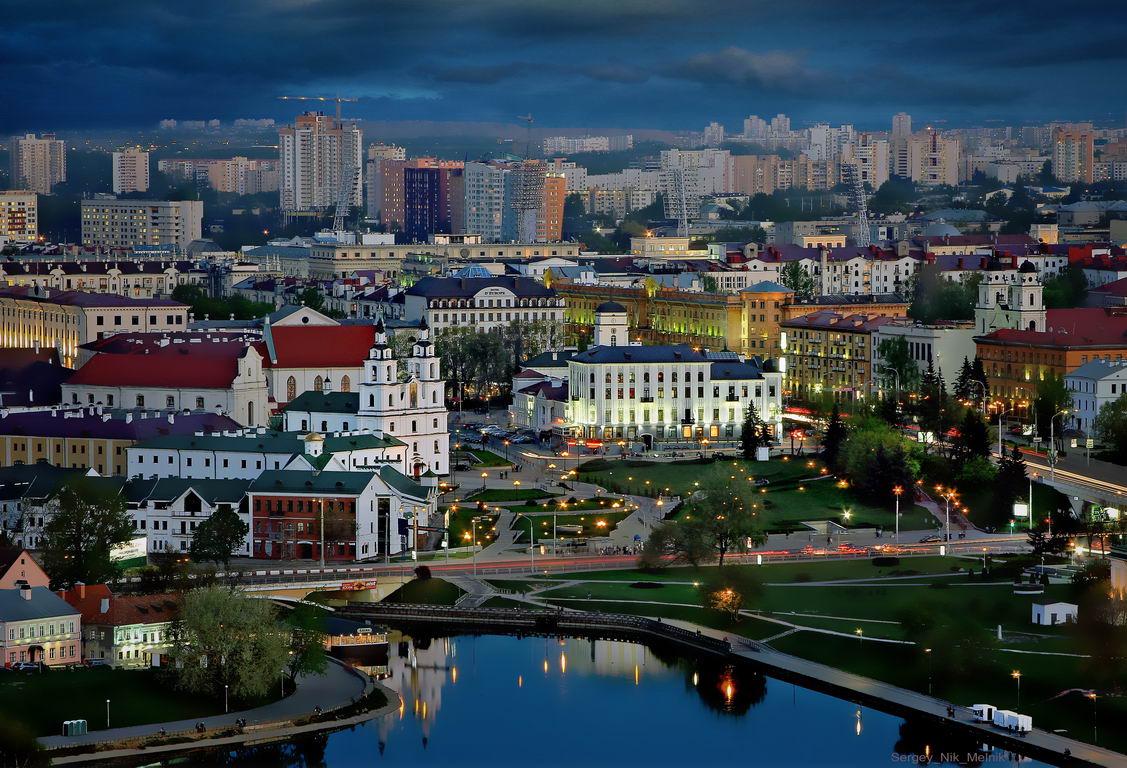 беларусь, город, минск, вечер, фотосфера-минск, Melnikoy Sergey