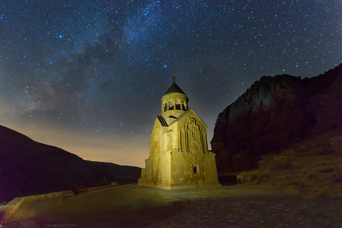 Нораванк Армения ночь звёзды, Кутыгин Эдуард