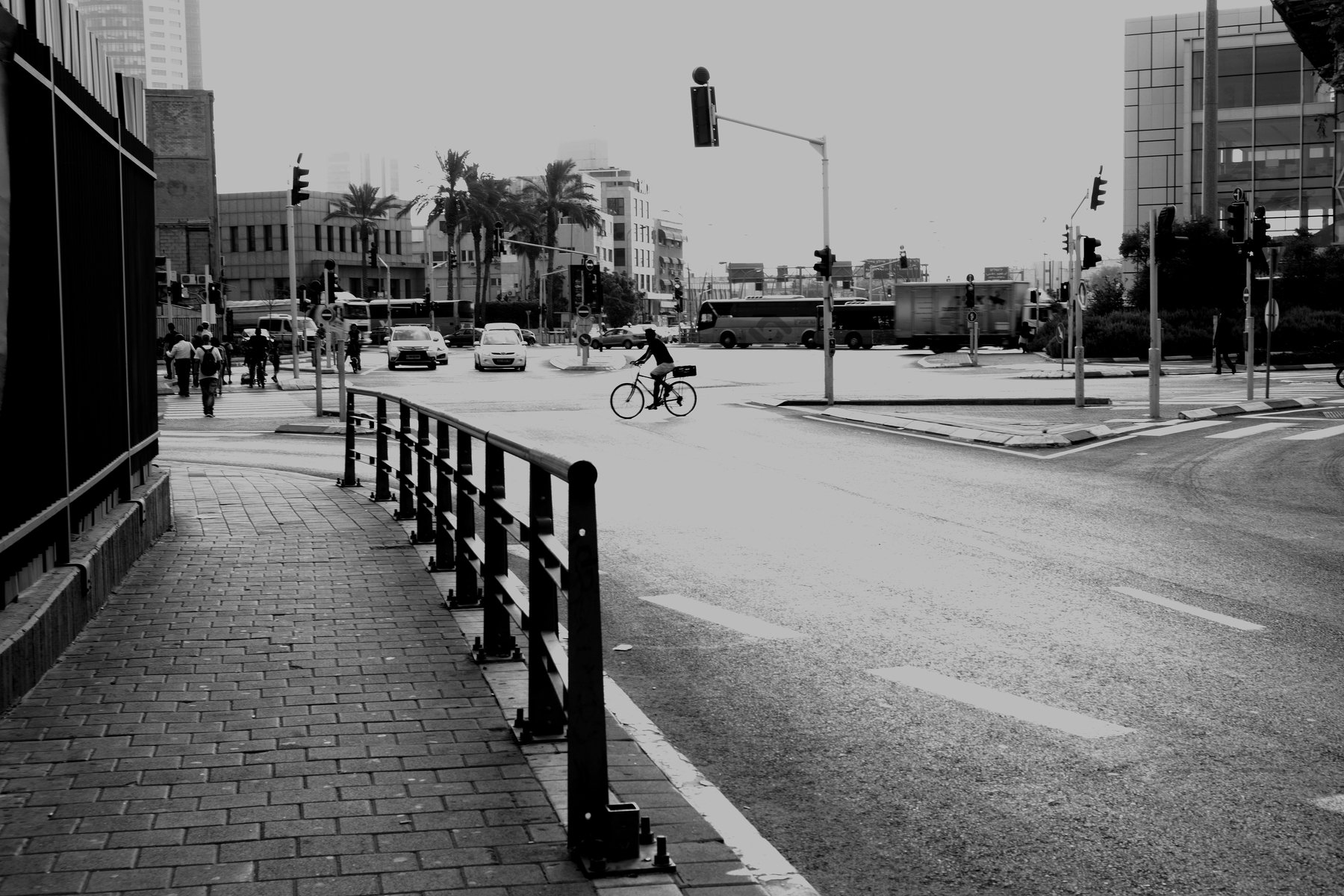 silhouet black and white, algazin vladimir