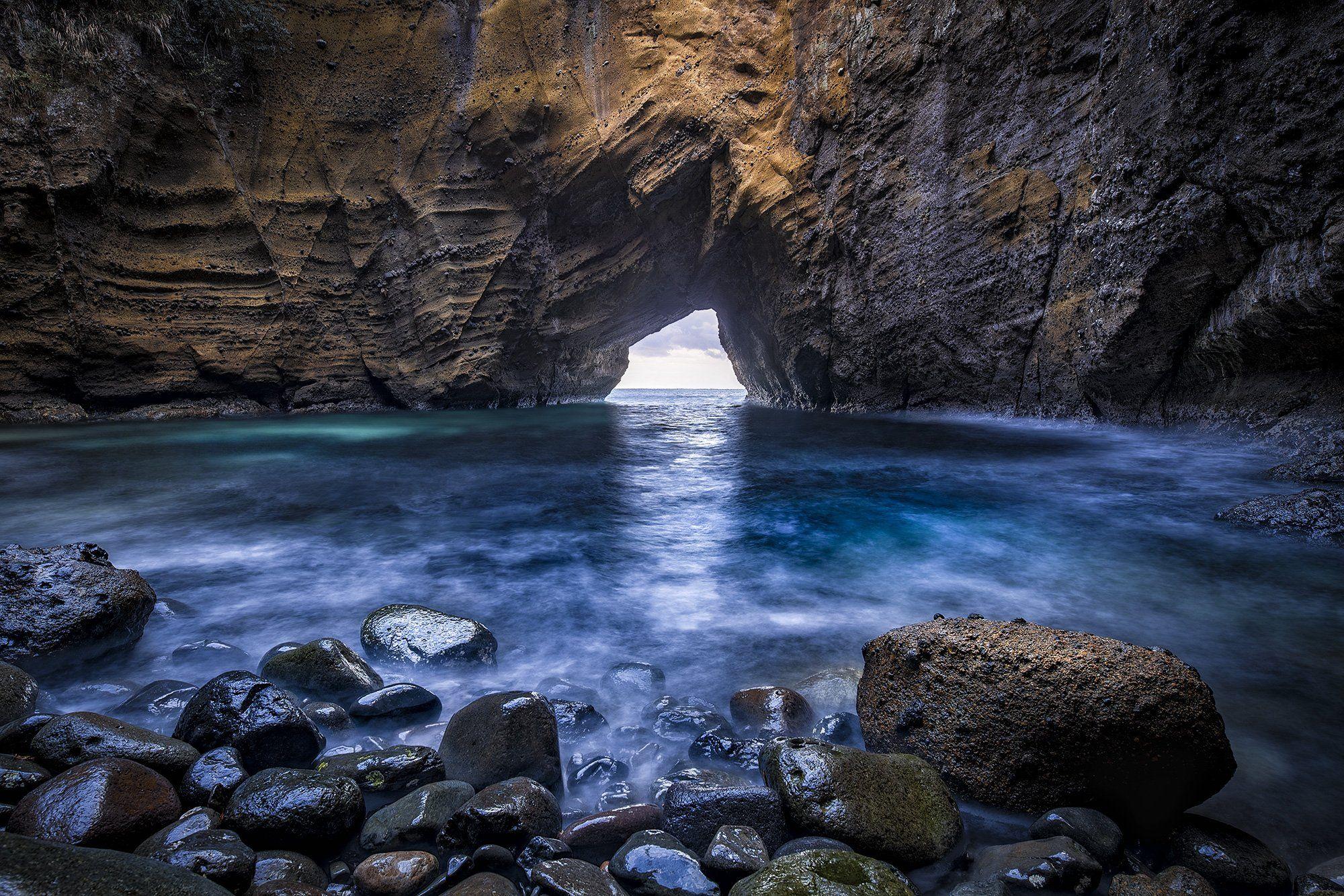 #landscape #seascape #sea #japan #shizuoka #blue #rock, Yabuzaki Jiro