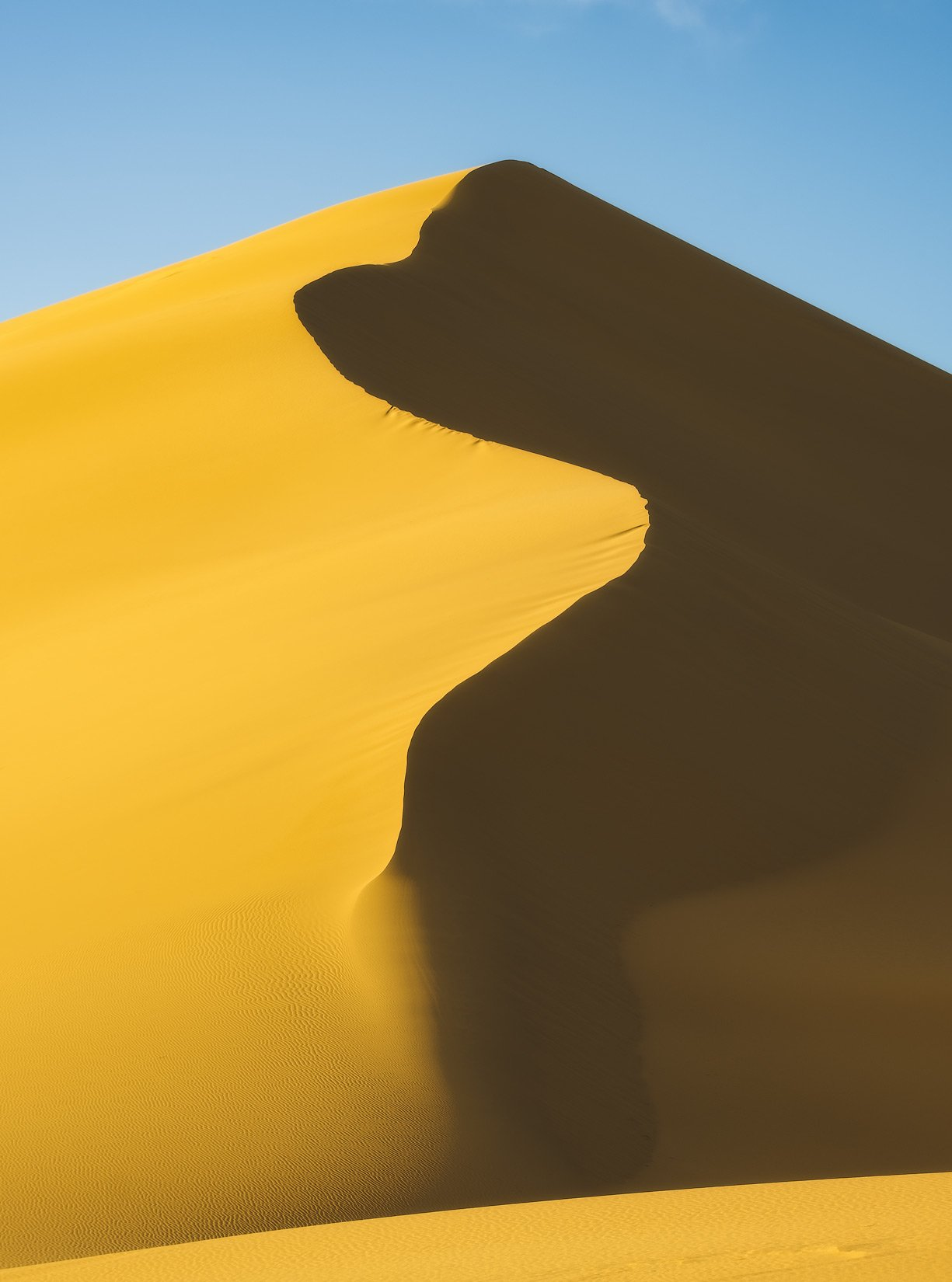 россия, дагестан, кавказ, горы, бархан, закат, природа, весна, пустыня, песок, линии, Оборотов Алексей