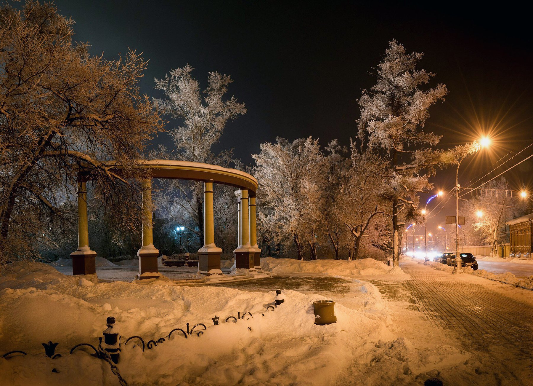 ночь, город, Назарова Екатерина