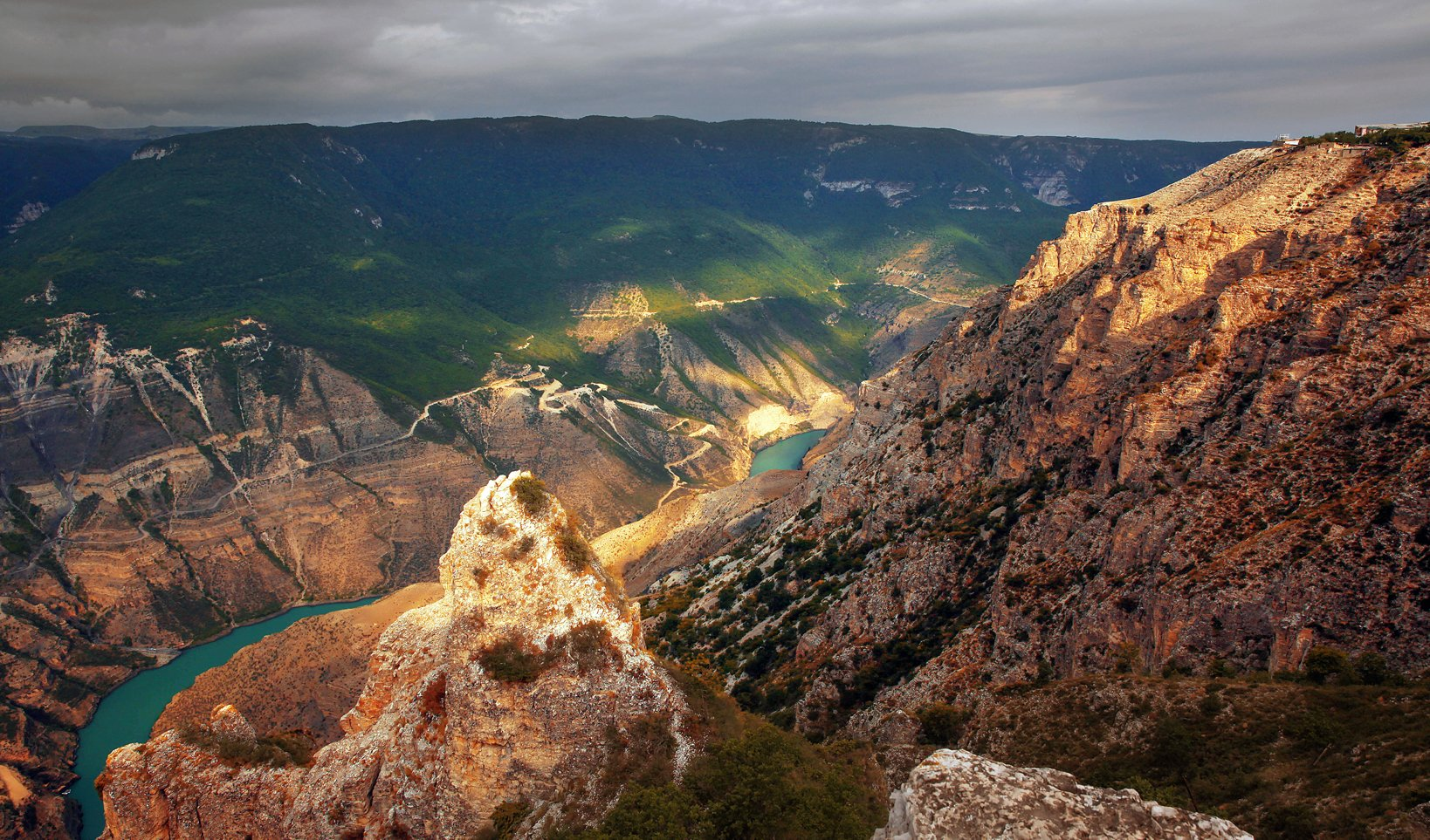 сулак,каньон,река,вода,горы,дагестан., Magov Marat