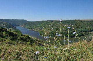 Украина. Подолье. Днестровский каньон.