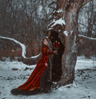 фото Червона Ворона модель Настя