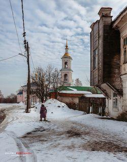 Тверская область,город Кимры,микрорайон Заречье. 09.03.2017
