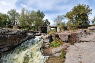 водопад Выр, с.Буки, река Горный Тикич