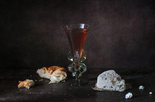 С хлебом и сыром. По мотивам картины Дж. Эверсена