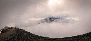 вид на Корякский вулкан