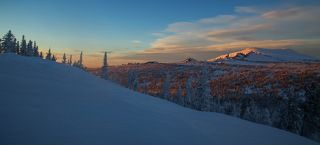 Широким углом по Сибирским склонам!