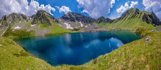 Загедан Двухозёрье первое озеро